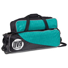 DV8 Circuit Teal 3 Ball Tote Bowling Bag With Shoe Pouch