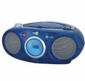 NEW NextPlay BLUE CD BOOM BOX - NEW IN BOX - VINTAGE AM/FM Analog Radio TB5000B