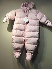 Baby Gap Warmest down snowsuit, Pink Camo SIZE (0-6 Months) (7-17 lbs)  #234209