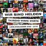 """WIR SIND HELDEN """"TAUSEND WIRRE WORTE -..."""" CD NEW!"""