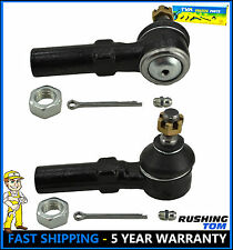 Pair 2 Front Outer Tie Rod Ends For Nissan Maxima Altima 240SX 95-98 I30 ES3438