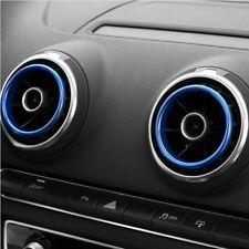 Audi A3 S3 Q2 Lüftungsringe Lüftungsdüsen Zierring Ring Sportback Limousine Blau