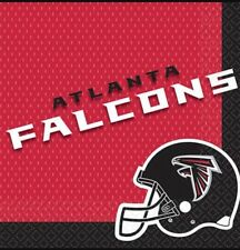 One Package Of 36 Atlanta Falcons Football Nfl Party Napkins New