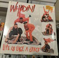 """Whodini """"Life is Like a Dance / I'm a Ho"""" SEALED MINT PROMO JIVE - RARE OG '87"""