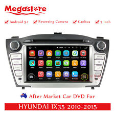 "7"" Car DVD GPS Navigation For HYUNDAI IX35 2010-2015 Quad Core Android 7.1"