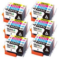 564XL New Gen Ink Cartridge Set Lot For HP Photosmart 7510 7515 7520 7525 & More
