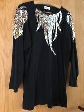 Damen T-Shirt mit Perlen