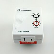 X-10 Home Automation/Control Lamp Module (Model Lm465)