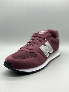 Authentic New Balance Trainers Red Suede Model GM500BUS   Size UK 10 EUR 44.5