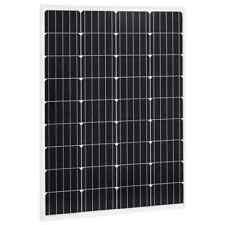 vidaXL Solar Panel Monocrystalline Aluminium Safety Glass 100W Energy Panel