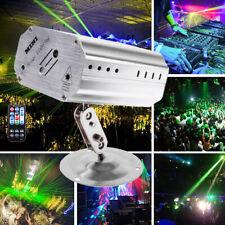 Muster Lichteffekt RGB LED Laser DJ Projektor USB Disco Party Bühnenbeleuchtung