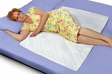 Waterproof, Reusable and Washable Bed Pad - no flaps - suits all bed sizes
