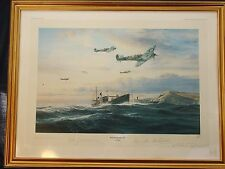 Robert Taylor:  'Return of the Few' – signed Limited Edition Print - Spitfires
