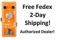 New Tone City T12 Summer Orange Phaser Guitar Effects Pedal