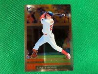 2000 Topps Chrome #360 Jim Thome Cleveland Indians