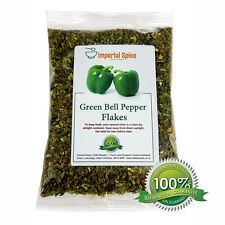 Sweet Dried Green Bell Pepper Flakes. Quality - 100g