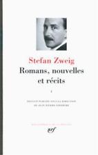 romans  nouvelles et récits t.1 Zweig  Stefan Neuf Livre