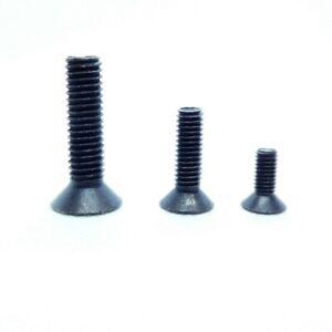 DIN 7991 Senkkopfschrauben M5 M6 M8 -schwarz-Stahl-hochfest 10.9 -ab 2 Stück