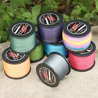 300M/500M/1000M Dyneema Spectra 8 Strands PE Braided Sea Fishing Line 12-160LB