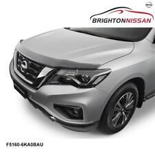 New Genuine Nissan Pathfinder R52 (Ser 2) Bonnet Protector, Smoked F51606KA0BAU