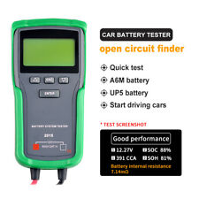 12V Car Battery Tester Starting Charging System Lead Acid 100-1700 CCA Analyzer