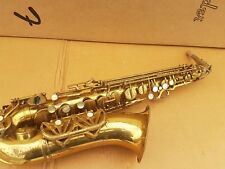 40's JOUAN & GUESDON ALT / ALTO SAX / SAXOPHONE - made in FRANCE