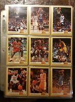 1993 Classic Draft Picks Basketball 110-Card Complete Card Set