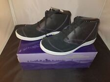 NIB Ahnu Pier 3 Chukka Boots Black Color Size 5 Medium US/3 UK/36 EUR Brand New