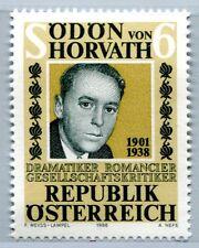 Austria Austria 1926 50. centenario della morte Ödön di Horvath, scrittore 1988 **