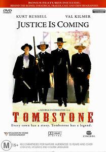 Tombstone -Rare Aus Stock Comedy DVD New Region 4