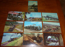 Lot of 10 Vintage Steam Town USA Post Cards