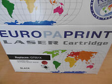 Europaprint Toner Black für HP P3005, M3027, M3035 Q7551X NEU OVP