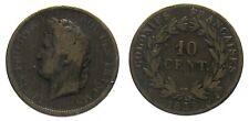 *TRIU* FRANCIA Colonies Francaises. Luigi Filippo  10 CENTIMES 1839