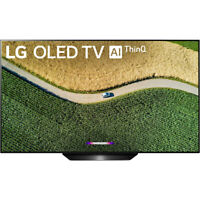 "LG OLED55B9PUA B9 55"" 4K HDR Smart OLED TV w/ AI ThinQ (2019 Model)"