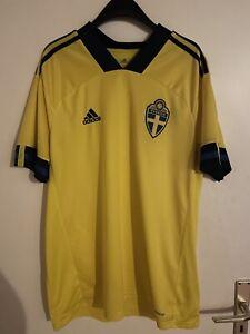 Schweden Sverige adidas EM 2021 Heimtrikot XL