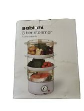 3 tier electric food steamer Sabichi