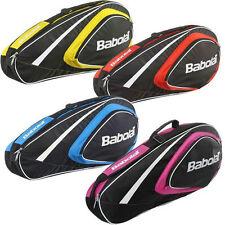 BABOLAT CLUBLINE 3 RACCHETTA TENNIS Bag Giallo, anche per viaggiare o Padel Squash