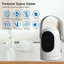Us Portable Electric Space Heater 3 Settings Fan Winter Warm Air Heating Machine
