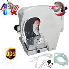 Usa Wet Dental Model Trimmer Abrasive Disc Wheel Gypsum Arch Lab Equipment 500w