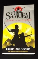 NOW REDUCED  , A BOOK BY CHRIS BRADFORD YOUNG SAMURAI
