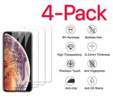 4-Pack For Apple iPhone 11 /11 Pro iPhone Xs Max Screen Protector Tempered Glass