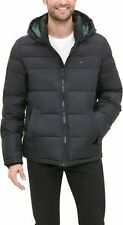 Tommy Hilfiger Mens Classic Hooded Puffer Jacket