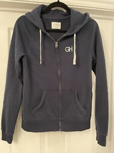 GILLY HICKS / HOLLISTER - Navy Hoodie with logo. Size Small / 8. Great Condition