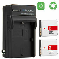 PULUZ PU2133 US Plug Camera Battery Charger for SONY NP-F550//F570//F750//F770