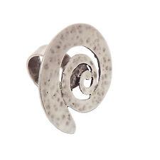 LUNAMOR Ring silber plattiert antik nickelfrei verstellbar Statement Schmuck