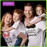 Vater Mutter Sohn Tochter outfits Minnie Maus t-shirt mama Tochter boy girl
