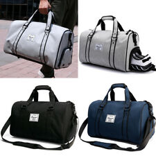 Men Women S M L  Gym Sports Bag Shoulder Bag Hand Luggage Duffel Pack Travel Bag