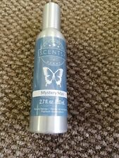 Authentic Scentsy 2.7 oz room spray air freshener Mystery Man