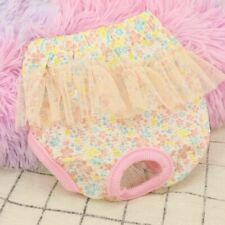 Pet Dog Puppy Diaper Pants Physiological Sanitary Panties Underwear Female S