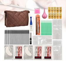 PRO Extra longer Eyelash Perming Curling Kit Glue/Brushes/3 Size Rods/Tweezers